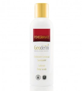 Peeling do ciała z granatem, 200 ml, GEODERM POMEGRANATE